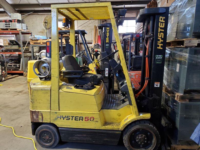 Hyster C908 5000Lb Cushion tire